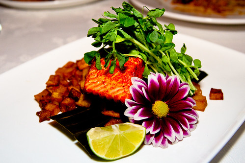 Seared Tandoori Salmon at Tomi-Kro