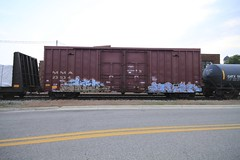 ACER | ENTER (grbenching) Tags: art by train bench graffiti trains spray acer graff enter goonies freight vd freights rollingstock freeart gns benching