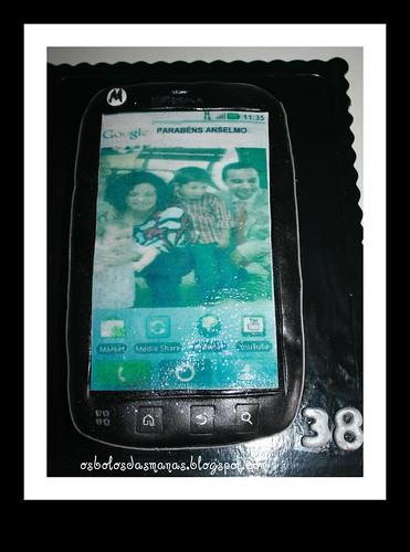 Bolo Smartphone Motorola by Osbolosdasmanas