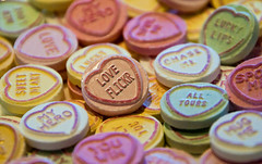 """New Theme for a week is """"Hearts"""" (twinnieE) Tags: flickr love candy lovehearts sweets loveflickr comp pastel yummy nomnom twinniee reposted pink sweet twitter luv sweeties hearts competition theme week eat treat win big feature compcorner"""