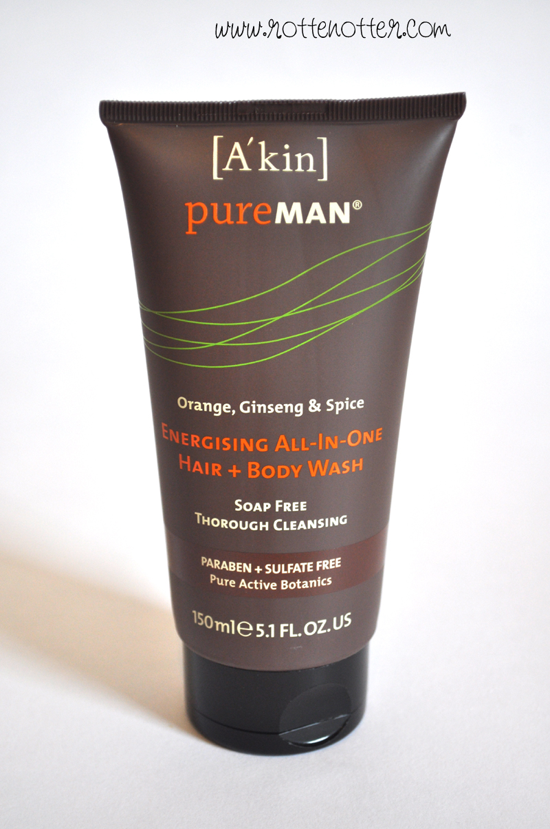 mypure akin man shower gel