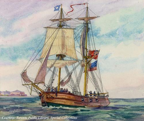 ontario sailing adams ships brigantine brig warship warof1812 hmsdetroit ussadams charleshenryjefferey