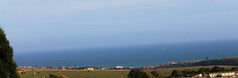 View from my back garden :o) (TheDaz1) Tags: blue sea sky windmill seaside view rottingdean woodingdean hoizon