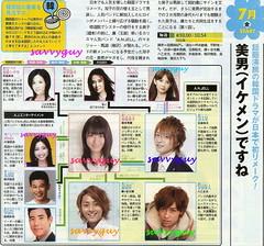 7.15 TBS  美男(イケメン)ですね