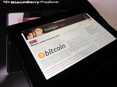 Playing with the BlackBerry PlayBook