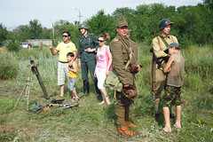 A reenactor in Romanian WW2 uniform after the show (k.dmitrijewa) Tags: digital canon uniform russia wwii ww2 reenactment reenactors russie reportage rievocazionestorica secondworldwar stalingrad segundaguerramundial russland  rekonstrukcja zweiterweltkrieg secondeguerremondiale tweedewereldoorlog recreacinhistrica 40d   canon40d reconstitutionhistorique msodikvilghbor pennyjey   historyczna renactment surovikino    stalingradfront