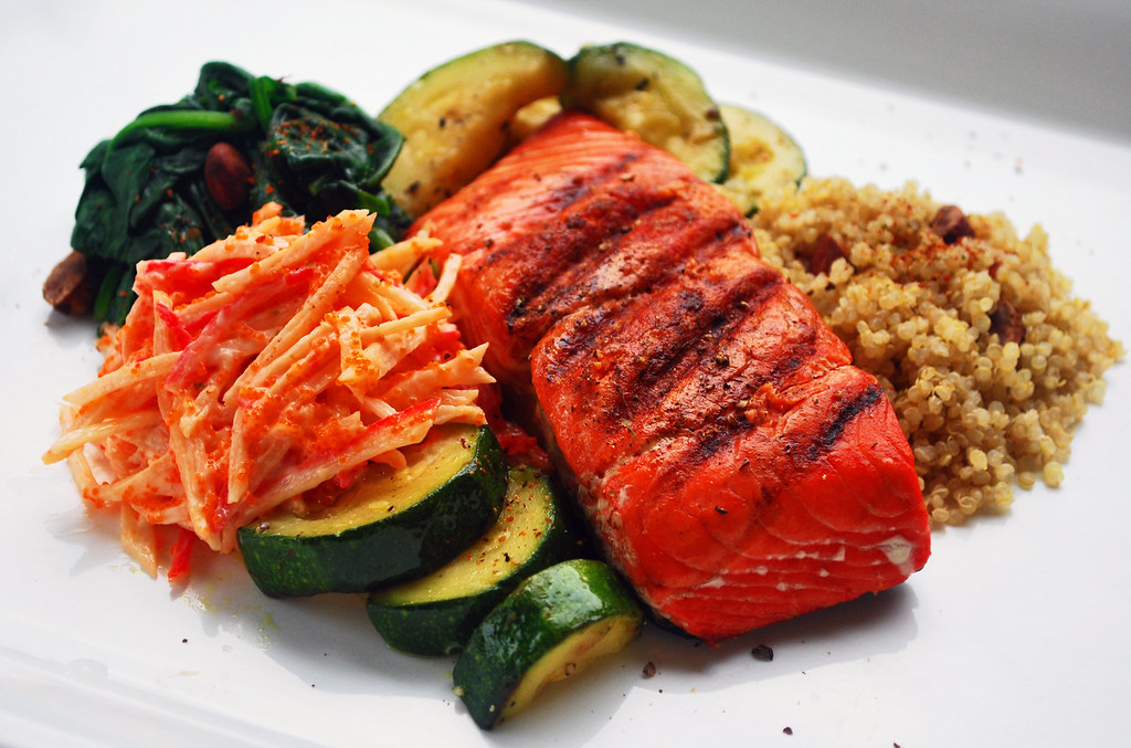 365-16 Salmon Surimi Salad