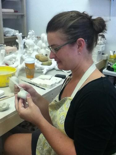 Studio visit Megan bogonovich by artstreamstudios