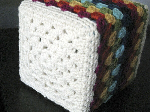 granny square crochet base