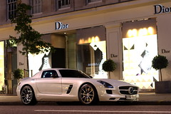 Mercedes SLS AMG (F14BigAl) Tags: london cars mercedes sls amg supercars
