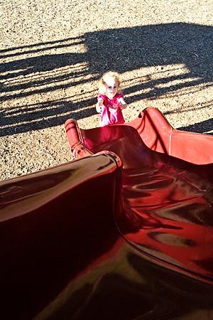 Slide-Catch-Mommy