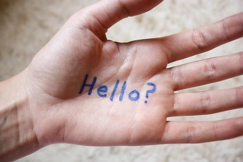 Hello Hand