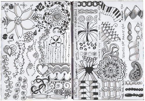May Zentangles uncolored