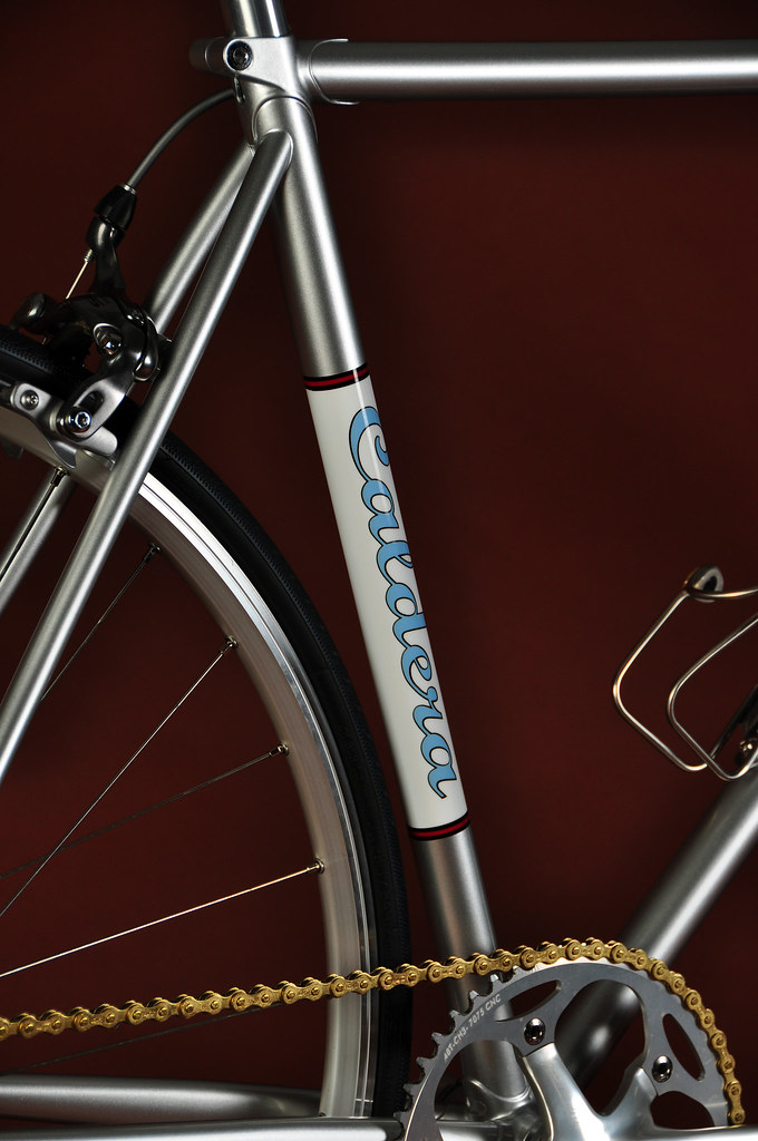 Road Fixed Gear - Silver