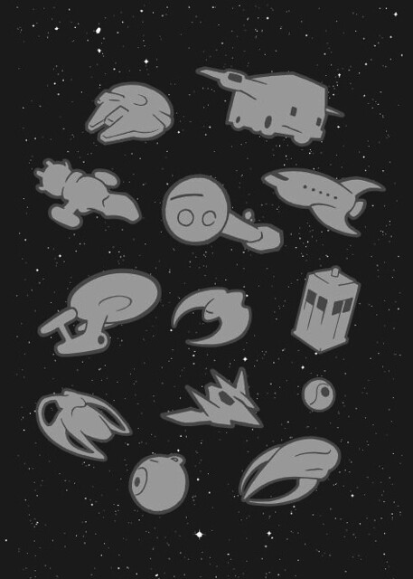 WIP objects in space