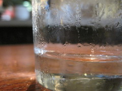 Glass of Water (dmatp) Tags: water glass condensation refreshing mundanedetails cipollina