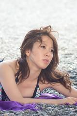 01304 (cosfit) Tags: ocean sea portrait people woman cute sexy beach girl beautiful beauty fashion japan lady asian japanese model asia pretty bikini swimsuit bathingsuit swimwear 20110703nisgp