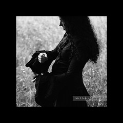 blackswift (Rain...) Tags: summer blackandwhite black blancoynegro field dark dance swan shadows witch hill goth victorian bn swift colina priestess fairytales bruja hechicera rainphotography luisflopez