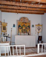 Chimayo Oratorio Alter (Heritage Hotels & Resorts) Tags: newmexico santafe lowrider chimayo sacredsite santuario religiousart redchile spanishcommunity heritagehotelsresorts hotelchimayo