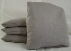 Grey Cornhole Bags