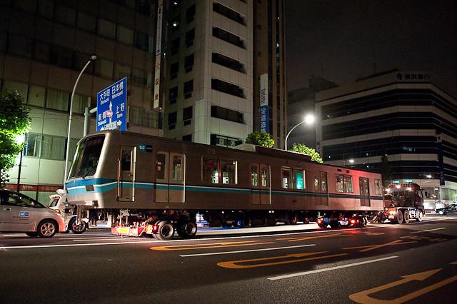 東京メトロ東西線05系 05-112F 05-012 05-912 川崎市営埠頭へ陸送