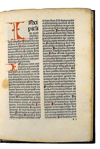 Variant in Michael Scotus: Liber physiognomiae
