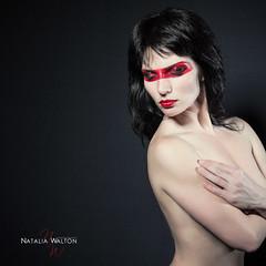 red mask_natalia walton-3 (nataliweddingphotography) Tags: red portrait woman selfportrait art dark mask makeup sensual lipstick lighl nataliawalton nataliawaltonphotography maskredlipstick selfportraitdarklight
