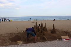 Sagrada Familia aus Sand!