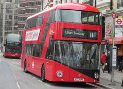 LT47, Victoria, London, 17/02/14 (aecregent) Tags: london 11 victoria wright hybrid lt londongeneral goahead nb4l nbfl newroutemaster goaheadlondon newbusforlondon 170214 borismaster victoria2014 londonbuses2014 lt47ltz1047