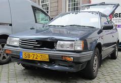 1987 Mazda 323 1.3 Automatic (rvandermaar) Tags: familia 1987 automatic mazda bf 323 sidecode4 sb72zb