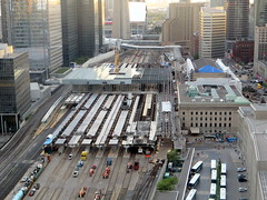 Working on Union Station (Sean_Marshall) Tags: toronto ontario station construction downtown railway unionstation