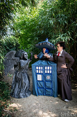 Elfia Arcen 2016 (AyraLeona) Tags: elfia elfiaarcen fantasy steampunk arcen tardis drwho who doctorwho wheepingangel whovian