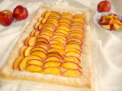 Rustic Nectarine Tart