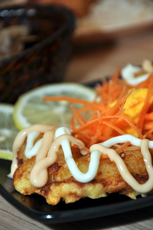 pineapple fish fillet