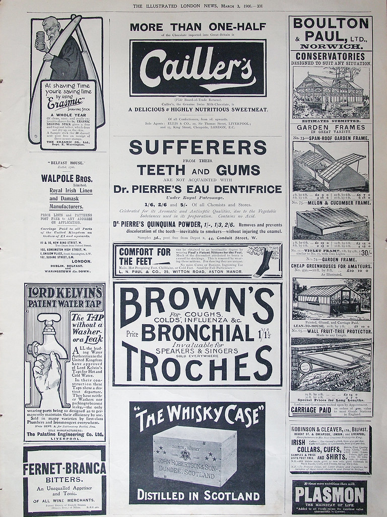Ephemera: newspaper ads