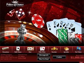 Palace of Chance Casino Lobby