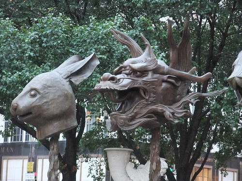 Ai Weiwei's Rabbit and Dragon