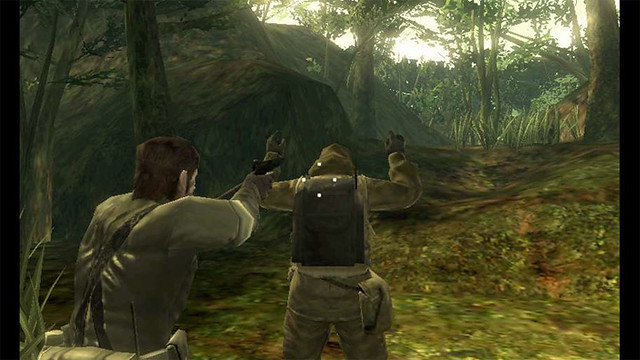 Metal Gear Solid 3D: Snake Eater - Freeze!