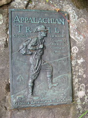 Appalachian Trail marker Photo