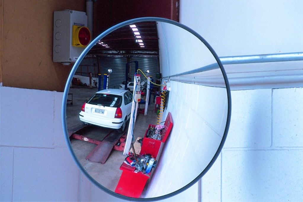 Convex Mirrors-Interior Convex Mirror 600mm round Acrylic