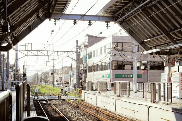Unoki station 鵜の木駅