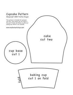 Molde cupcake by Koisinhas da Ane