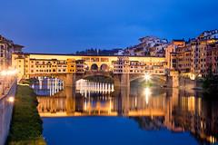 Italy - Florence: Medieval Reflections (Nomadic Vision Photography) Tags: italy florence pontevecchio arnoriver travelphotography medievalbridge italianarchitecture jonreid tinareid httpnomadicvisioncom medievaldesign