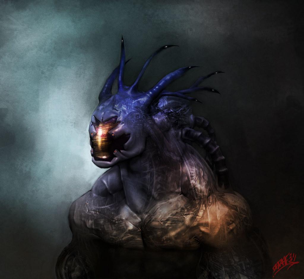 Z-brush-mech-beast