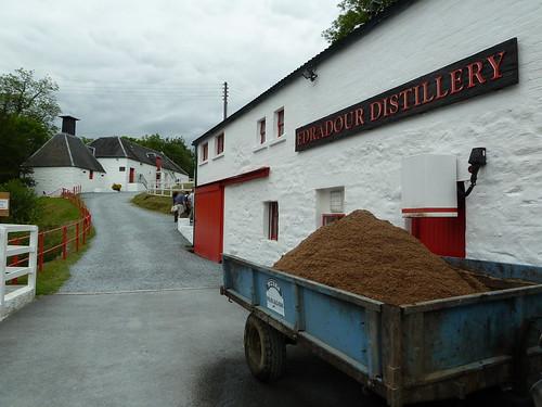 Edradour Distillery, Pitlochry,