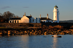 Sunset at Toward Point Lighthouse, Cowal Peninsula, Scotland (iancowe) Tags: lighthouse reflection point scotland clyde scottish stevenson trust peninsula dunoon toward clydeport cowal lighthousetrek wbnawgbsct