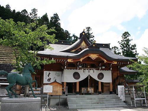 水の神社「丹生川上神社」3社めぐり『上社』@川上村
