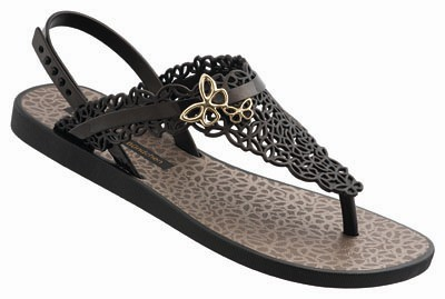Ipanema GB Butterfly Sandal Fem-black_gold