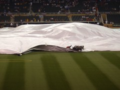 Rain Delay at Target Field
