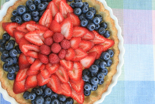White Balsamic Berry Tart